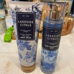 Lakeside citrus set